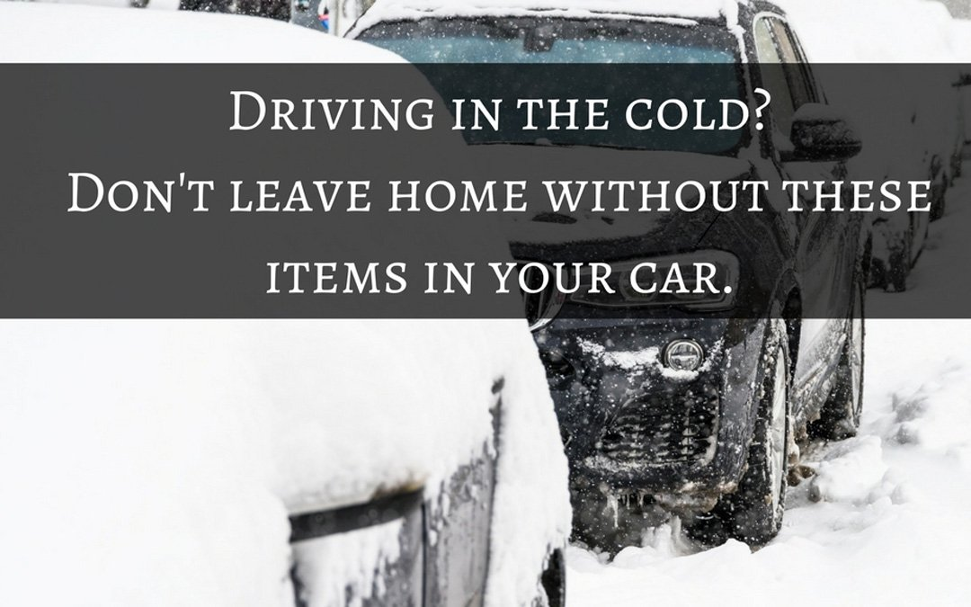 Don't Leave Home Without These Things in Your Car