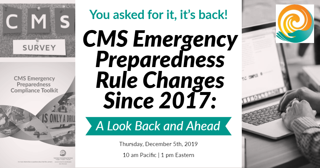 CMS Emergency Preparedness Rule Changes Since 2017