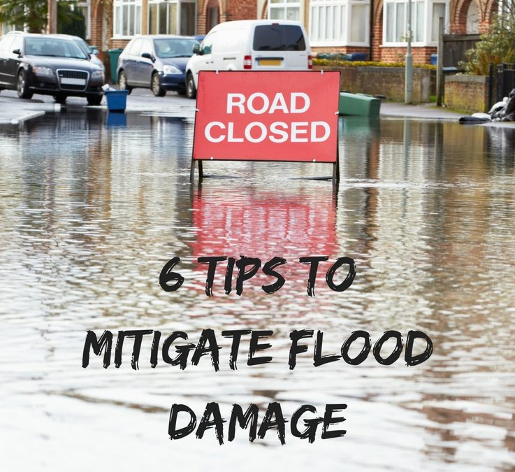 6 Tips to Mitigate Flood Damage