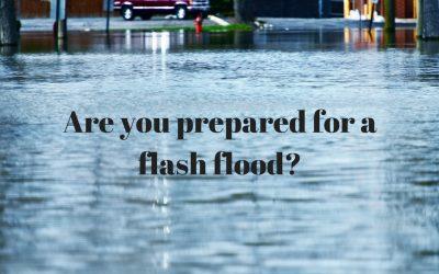 April Showers Bring Flash Flooding Preparedness