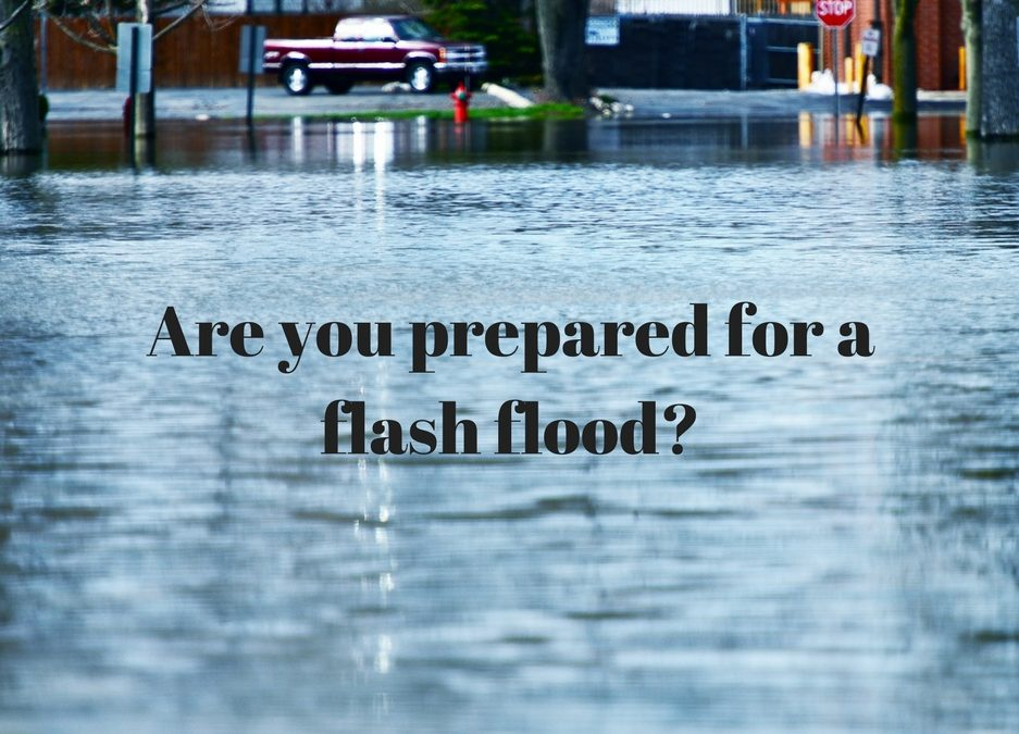 April Showers Bring Flash Flooding Preparedness