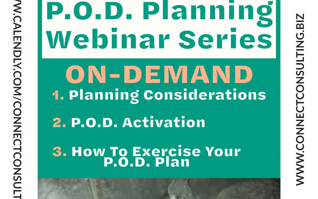 POD Planning